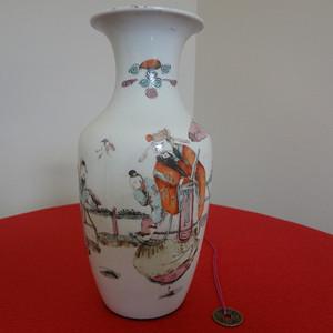 60 6188 清同治人物故事花瓶