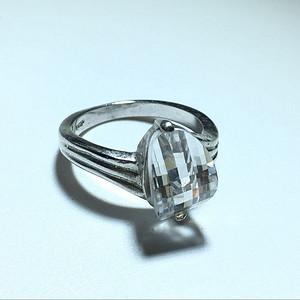 回流 五十年代  白托帕石 戒指 宝石切割 包浆老厚