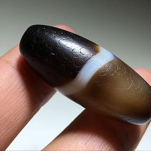 唐珠 熟润 玛瑙 一线勒子 包浆老厚 质感熟润