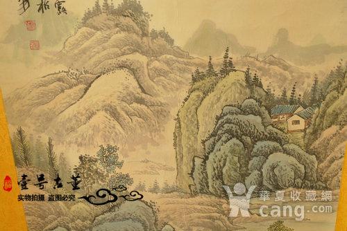 名家名人手绘原稿山水纹原画老字画图4