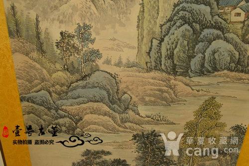 名家名人手绘原稿山水纹原画老字画图5