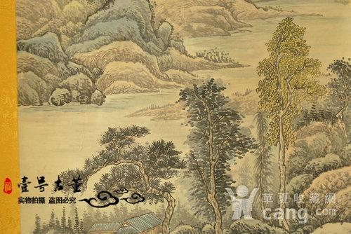 名家名人手绘原稿山水纹原画老字画图6