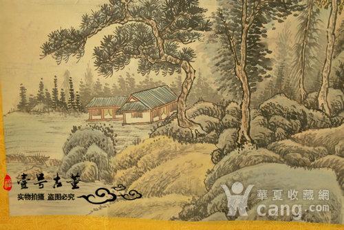 名家名人手绘原稿山水纹原画老字画图7