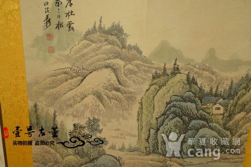名家名人手绘原稿山水纹原画老字画图8