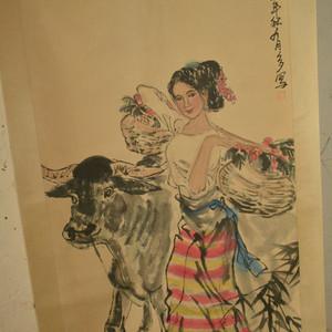 名家名人手绘原稿人物纹原画老字画