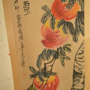 名家名人手绘原稿瓜果图原画老字画