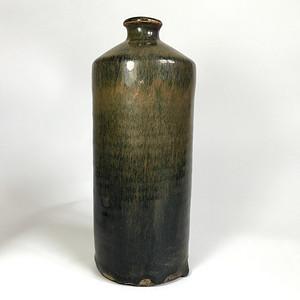 精品瓷 金元磁州窑黑釉瓶一只