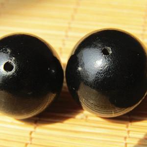 回流 珍贵材质 鱼子纹 黑珠两颗