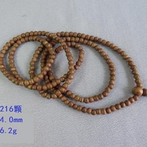 越南 216颗 沉香  项链