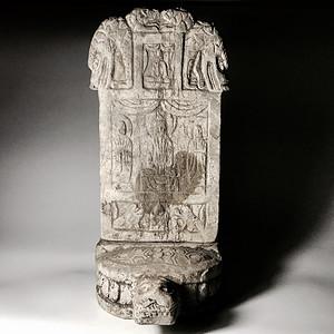 收藏级古石雕 明代石雕佛碑