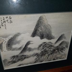 近代海上名家唐熊:精品山水画