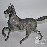 老马。汗血宝马。铸造铜骏马