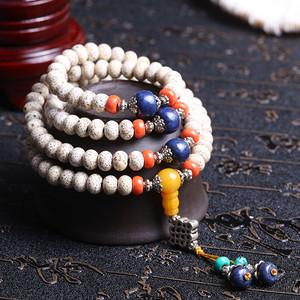 天然星月菩提佛珠手串