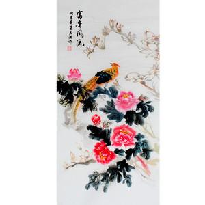 联盟 叶君淇花鸟画 国画:富贵风流