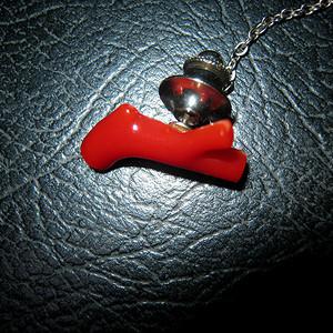 阿卡宝石级红珊瑚饰品