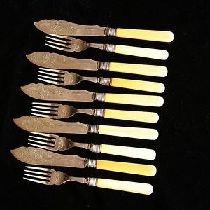 珍贵材质 回流刀叉餐具一套10件