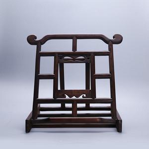 20世纪末花梨木雕书架