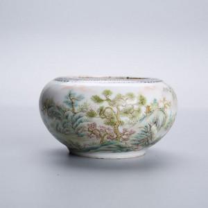 民国瓷水盂