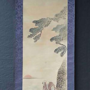 联盟 回流民国老画《蓬莱仙翁》