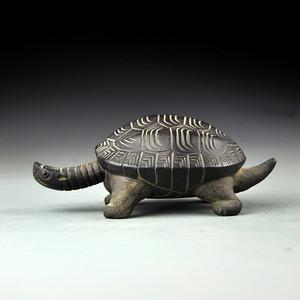 紫砂乌龟摆件