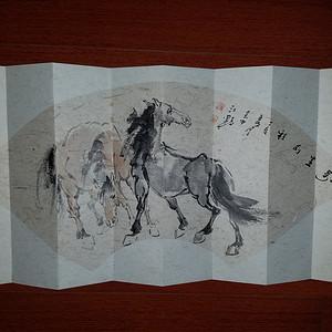 金牌  《已鉴定》著名画家 江野:万里前程图册页本《低价回馈中》