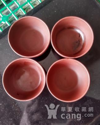 中国宜兴款紫砂杯四个图3