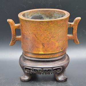 清代戈耳铜炉