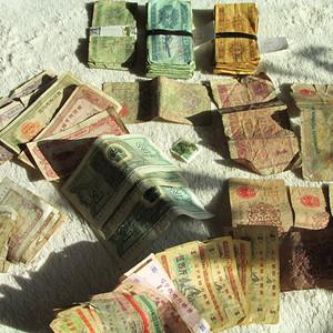 老粮票 购物卷 纸币