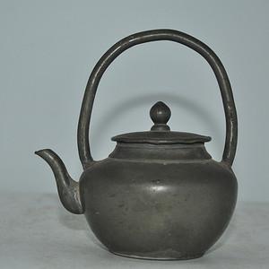 清末民国锡制小茶壶