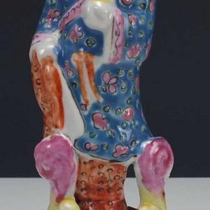 民国  八仙人物  瓷雕塑像  摆件