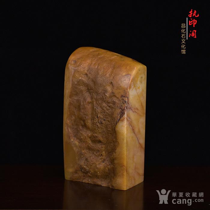 放漏   昌化掘性黄冻印章图6