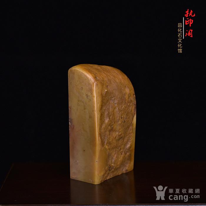 放漏   昌化掘性黄冻印章图4