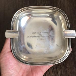 150克纯银烟灰缸