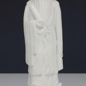 民国 德化窑白釉 瓷塑像