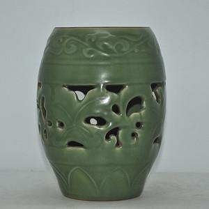 解放前后龙泉釉瓷瓶