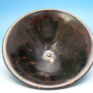 159.宋代 黑釉窑变釉茶盏