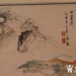 金牌 八九十年代江苏名家 张一萍 山水画