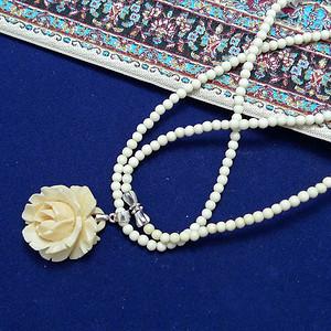 珍贵材质雕花坠及链
