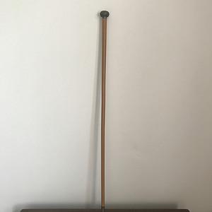 清末民国纯银龙头手杖
