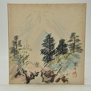 日本人物风景画