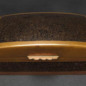 清代 经典 铜胎掐丝珐琅 盖盒