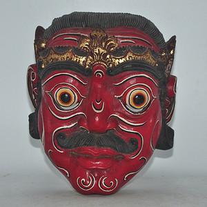 日本木雕面具