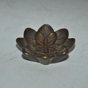 日本香道铜香插