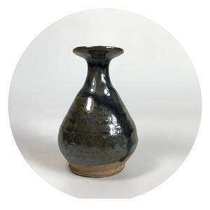 精品瓷 全品宋代磁州窑玉壶春小赏瓶