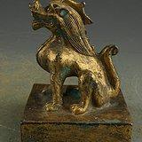 器鎏金铜瑞兽印