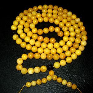 原矿波罗的海蜜蜡108佛珠