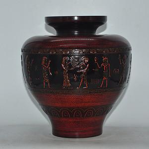 日本高级漆器御花瓶