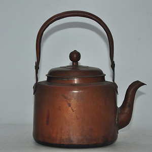 日本老铜壶