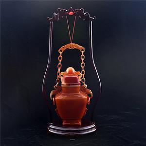 金牌 玛瑙链子花瓶