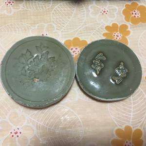 联盟 宋元龙泉梅子青茶托2